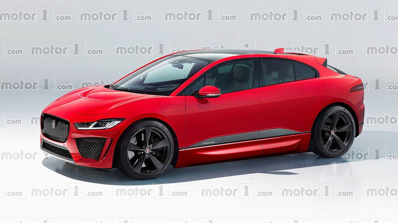 2020 Jaguar I-Pace SVR