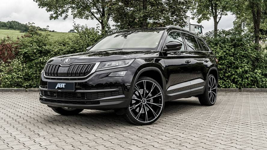 Tuner gives Skoda Kodiaq diesel a sporty RS disposition