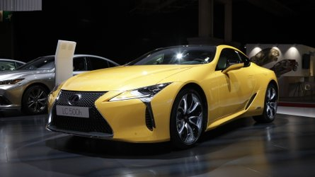 Lexus LC Yellow Edition Shows The Coupe's Sunnier Side In Paris