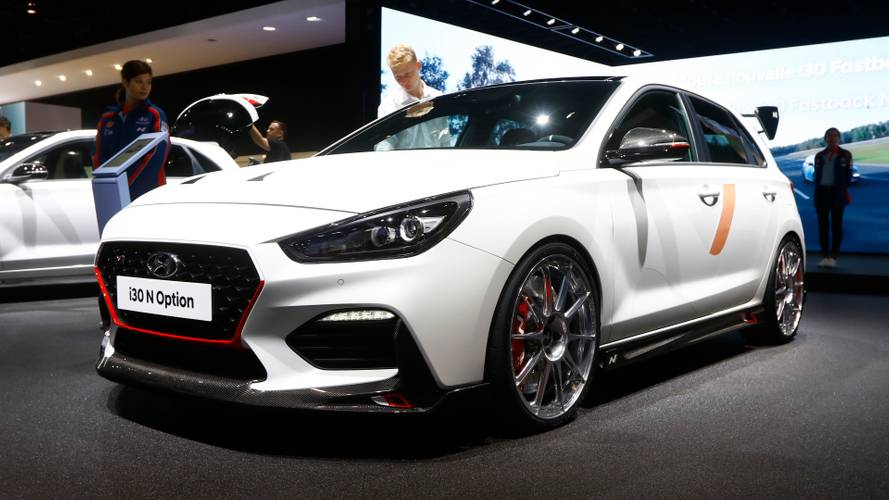 Hyundai i30 N with racy customisations revealed in Paris