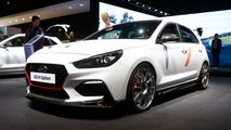 Hyundai i30 N with N Option at the Paris Motor Show