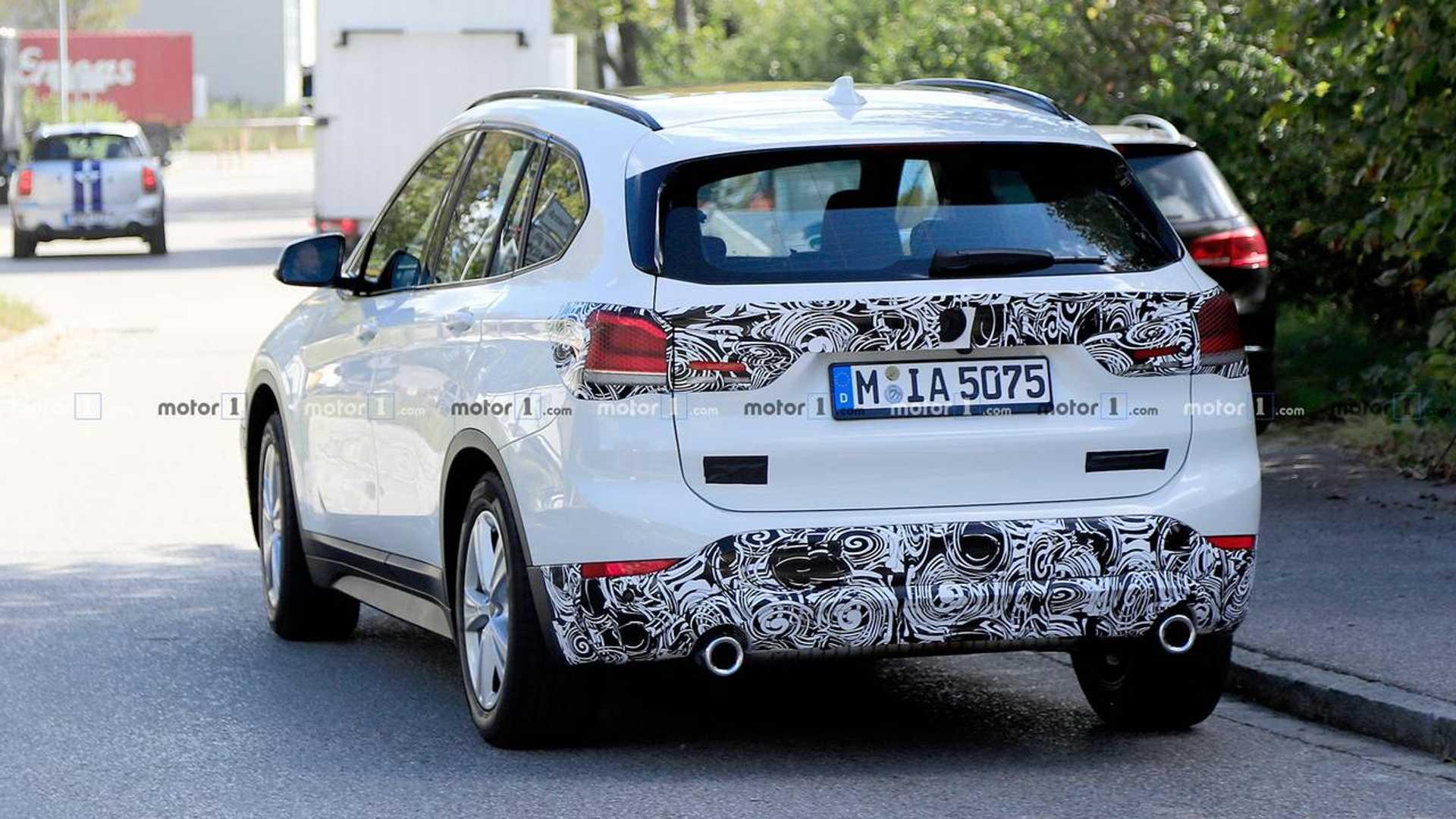 2019 - [BMW] X1 restylé [F48 LCI] Bmw-x1-refresh-spy-photos