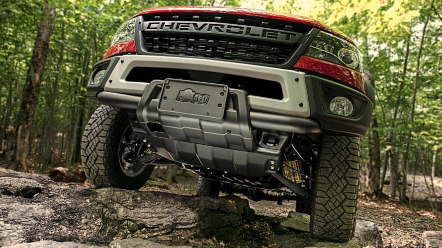Chevrolet Colorado ZR2 Bison Adds Beef To Mid-Size Truck Segment