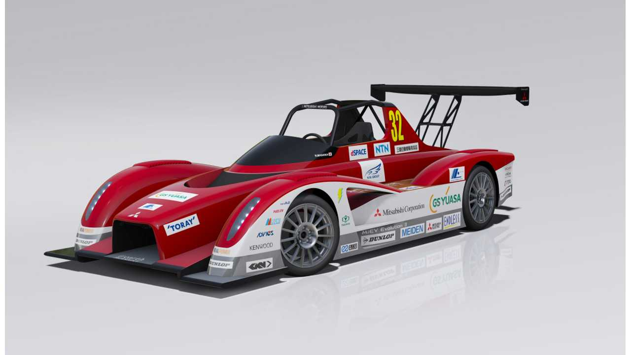 Mitsubishi to Compete in 2013 Pikes Peak Hill Climb with Updated MiEV Evolution II