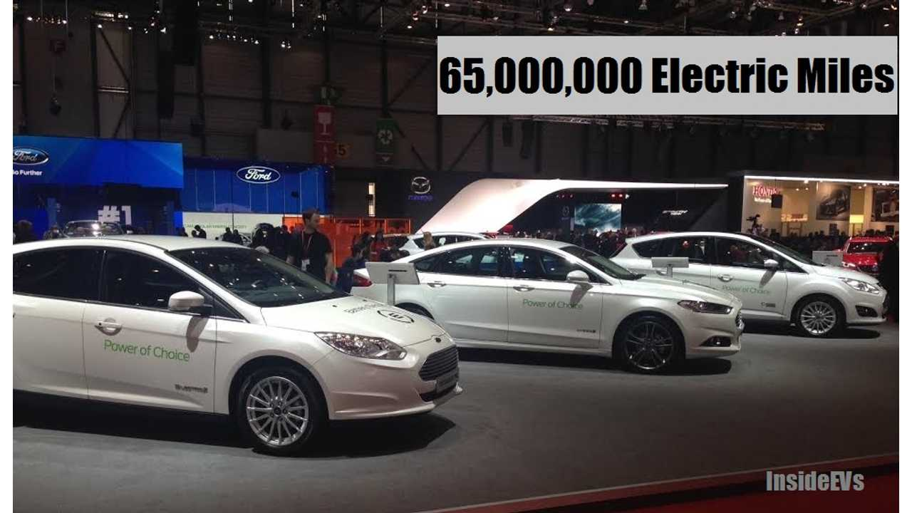 Ford Family Of Plug-Ins Have Logged 65 Million Electric Miles