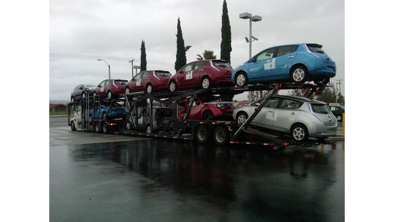 Nissan Admits Leaf Sales Short of Goal, Offering Steeper Discounts