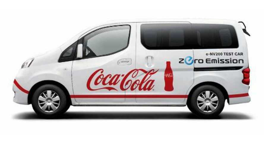 Coca-Cola Tests e-NV200 Electric Van From Nissan
