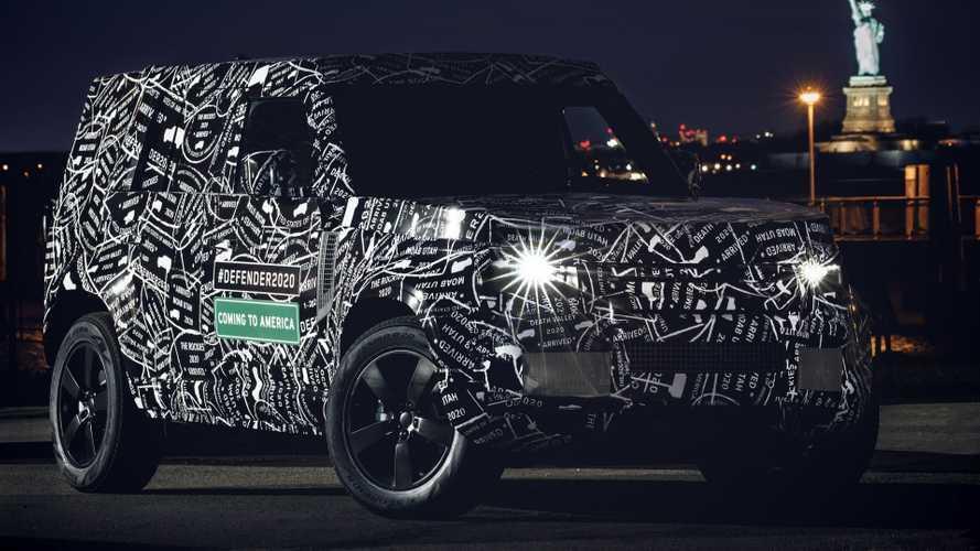 Land Rover Defender 2019 prototipo oficial