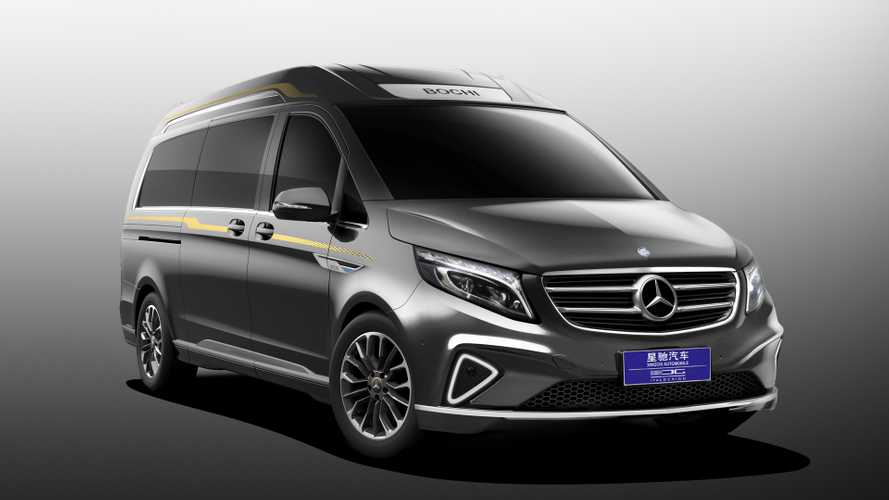 Italdesign luxes up Mercedes V-Class with leather and wood