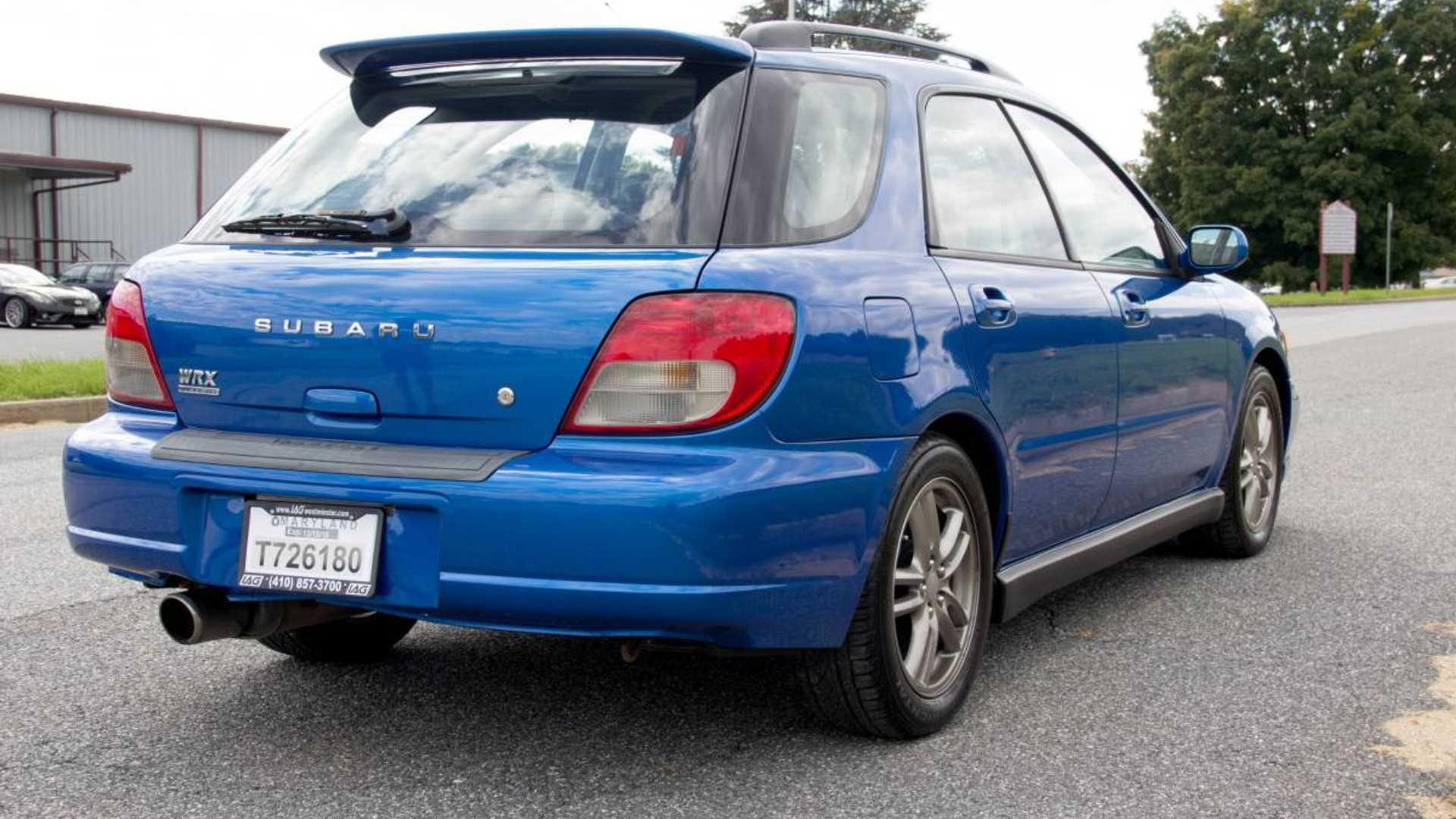 High Mileage Subaru Wrx Still Worth 7 500 Because Wagon