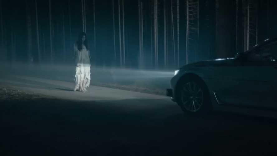 BMW'den korku filmi tadında otonom araç reklamı