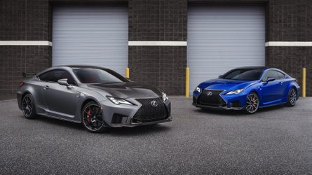 Lexus RC F y RC F Track Edition 2020: novedades en el salón de Detroit