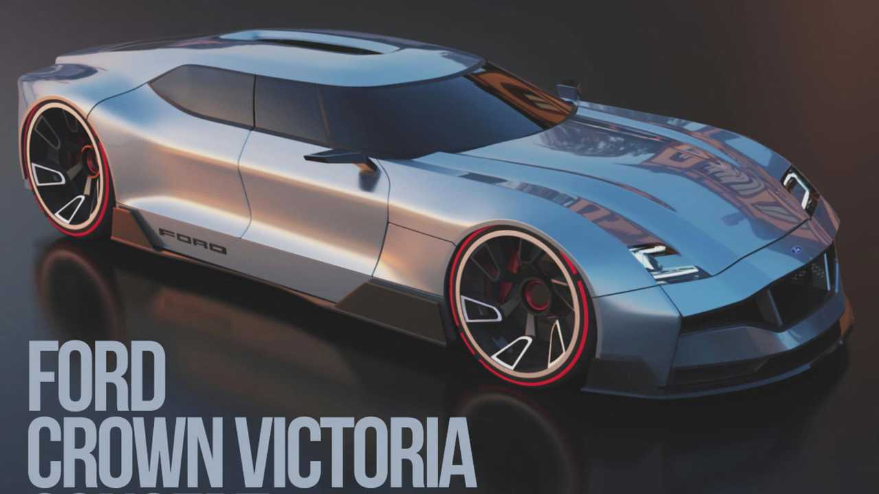 ford crown victoria concept rendered as future four