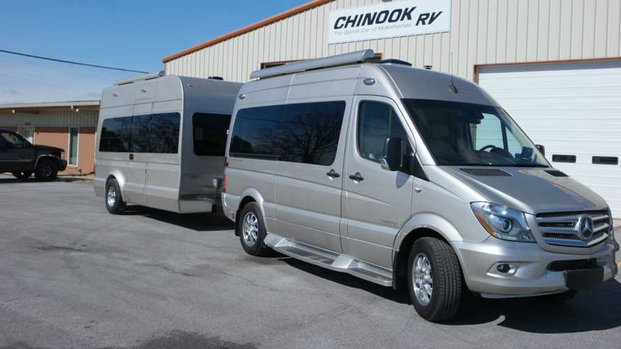 There's a matching trailer for your Mercedes Sprinter camper van