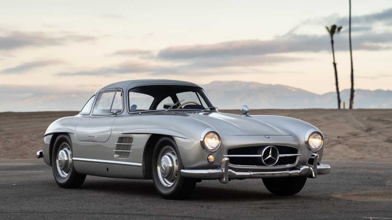 Adam Levine's 300 SL Gullwing set for RM Auctions sale