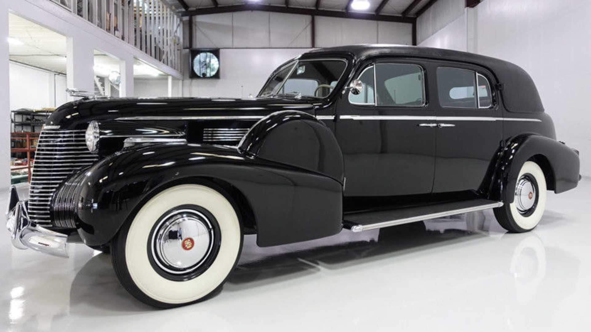 """[""""Howard Hughes 1940 Cadillac Fleetwood Series 75 Formal Sedan""""]"""