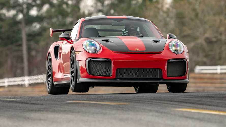 Porsche 911 GT2 RS record à Road Atlanta
