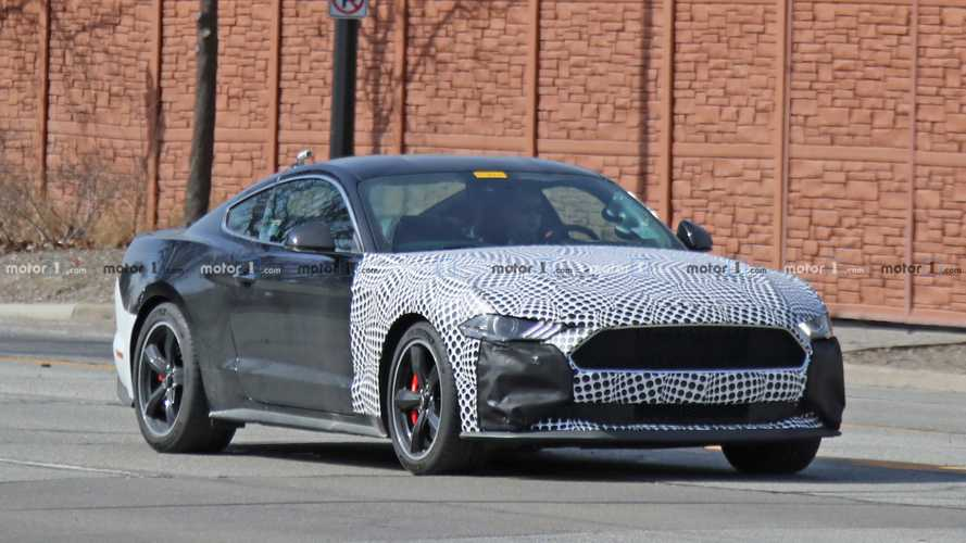 Ford Mustang Bullitt Test Vehicle Spy Shots