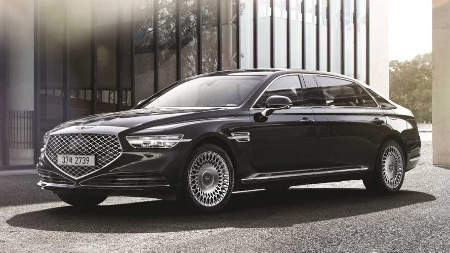 Genesis G90 Limousine Is Korea's Answer To Maybach