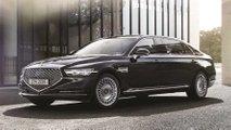 genesis g90 limousine details