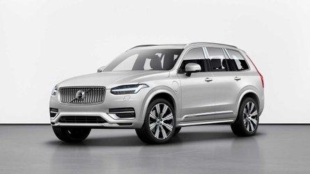 Energiavisszanyerő-rendszerrel és új szoftverrel debütált a frissített Volvo XC90