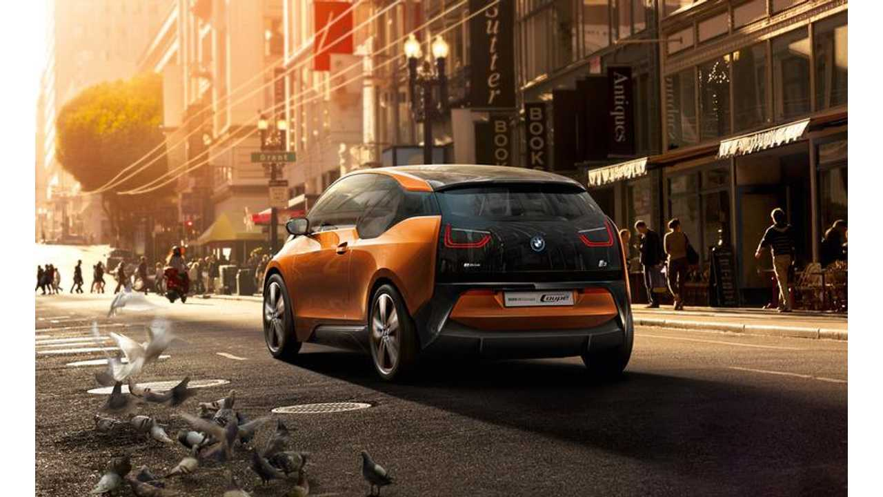 BMW Reveals Zero Emissions i3 Range Extender