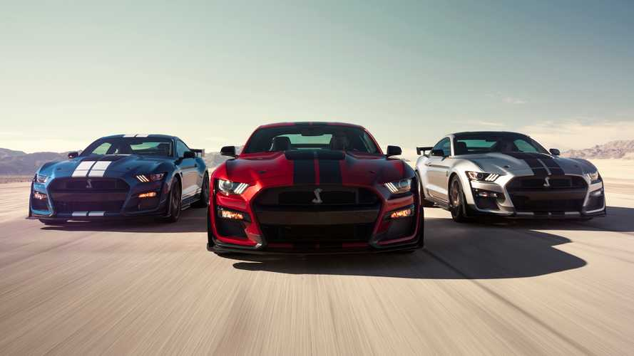 2020 Mustang Shelby GT500 officially tops out at 180 mph
