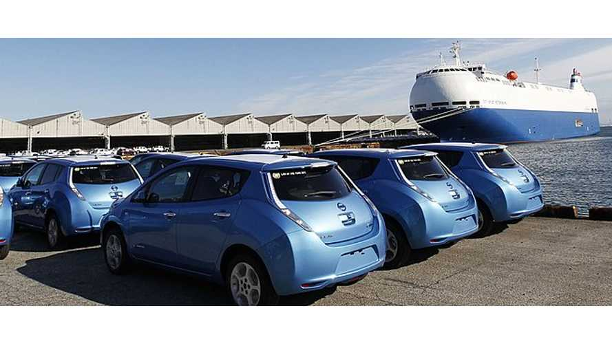 Nissan LEAF Sales Dip to 2012 Lows With 370 Units Sold