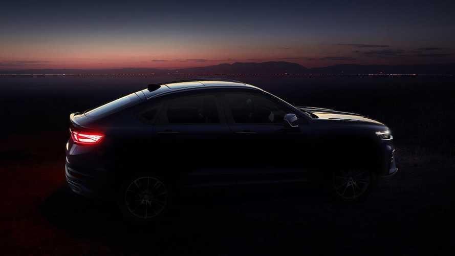 Premières images du Geely FY11, le nouveau SUV coupé