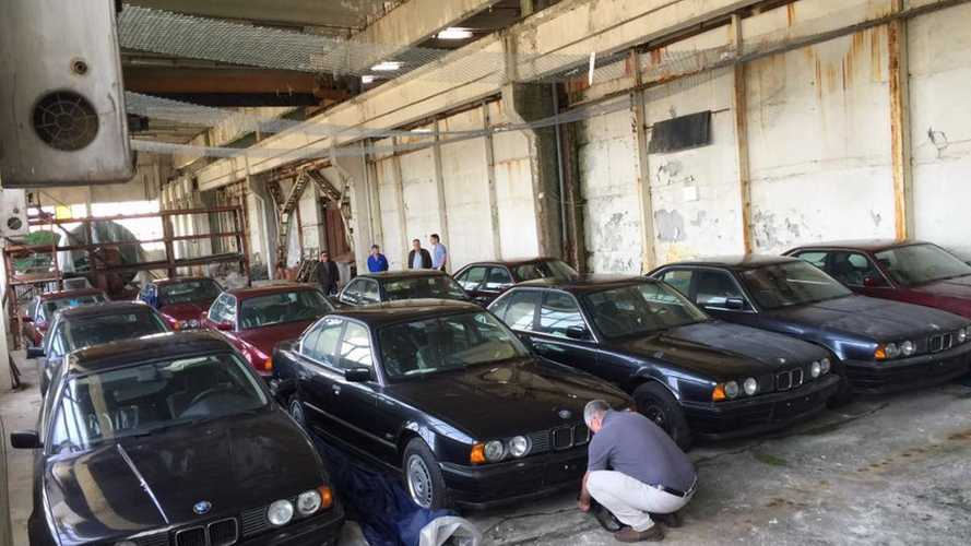 11 never driven 1994 BMW 5 Series E34 found in a warehouse