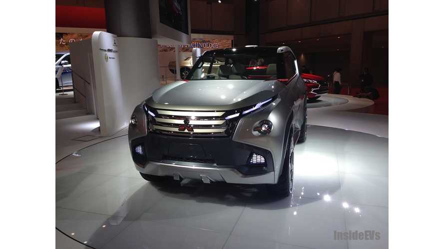 Mitsubishi Unveils Concept GC-PHEV in Tokyo - Live Images