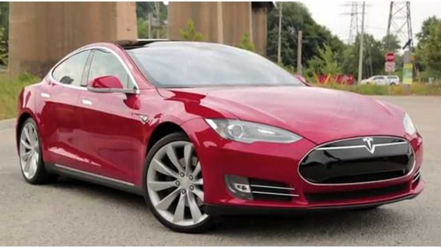 Video: Tesla Model S is