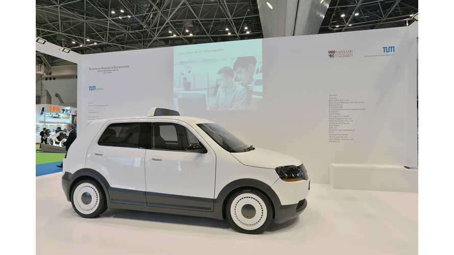 """TUM CREATE Unveils Electric Taxi in Tokyo - 15-Minute """"Super-Fast Charging"""" is Hailed as """"Solution to EV Range Challenge"""""""