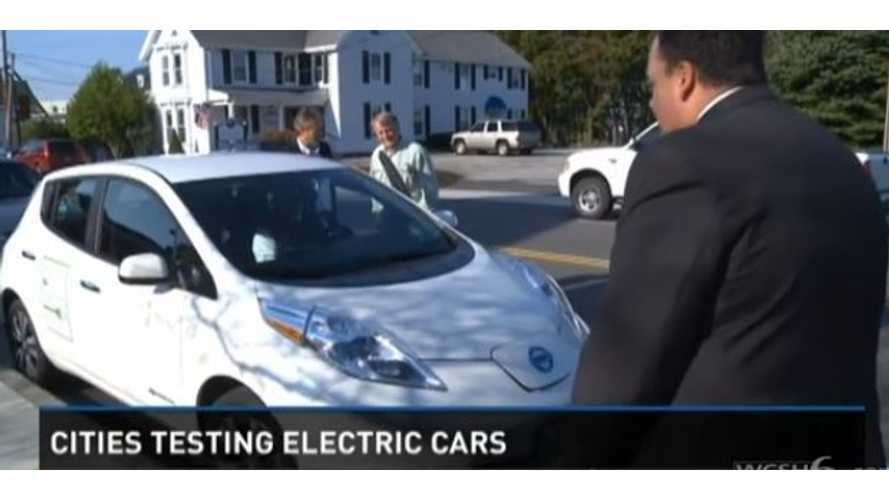 Video: Central Maine Power Gives City of South Portland Maine a Free Nissan LEAF