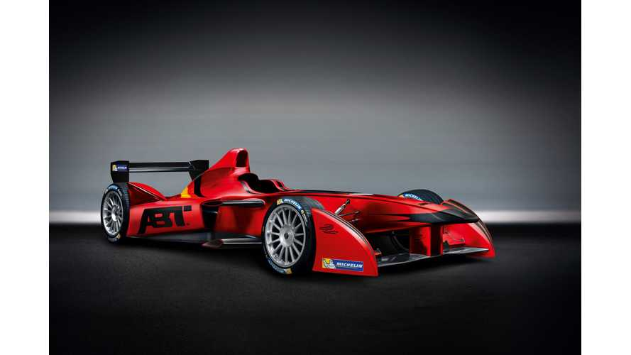 Audi in Formula E? Nah, But ABT Sportsline Will Use Audi Sport Banner