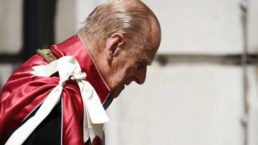 Prince Philip at a service at St Paul's Cathedral