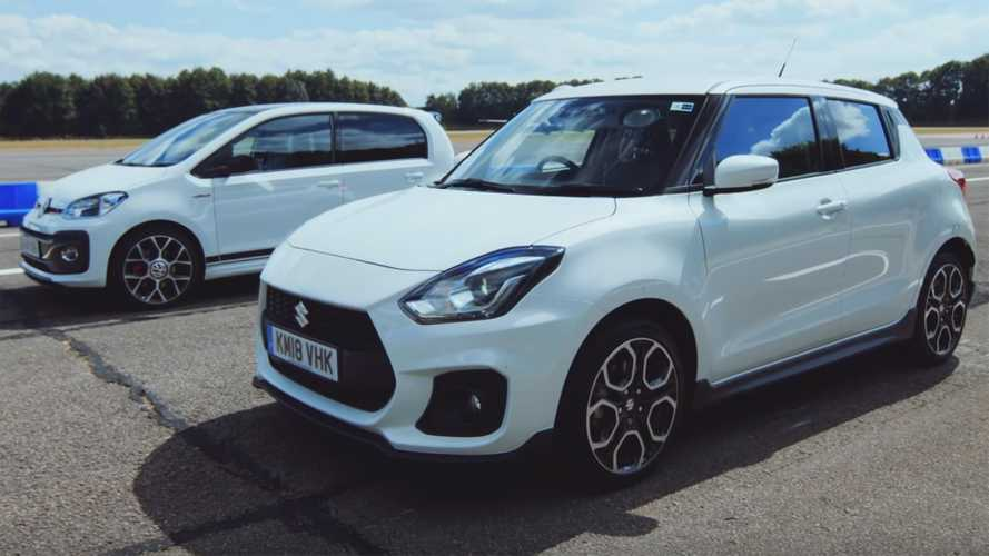 Suzuki Swift Sport, VW Up! GTI ile yarışıyor