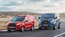 """Ford Courier, Connect und Custom auch als """"Sport""""-Varianten"""