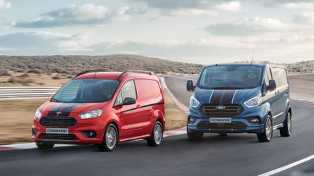 Ford Transit Courier, Connect und Custom (2019) mit Sport-Version