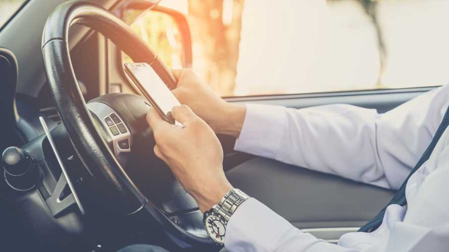 Six in 10 young drivers admit to using phones while driving