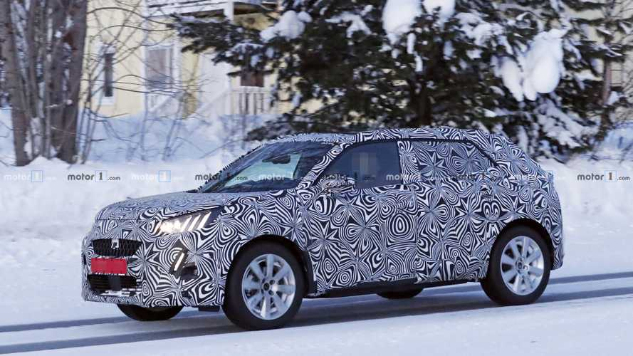 2020 Peugeot 2008 spy photos