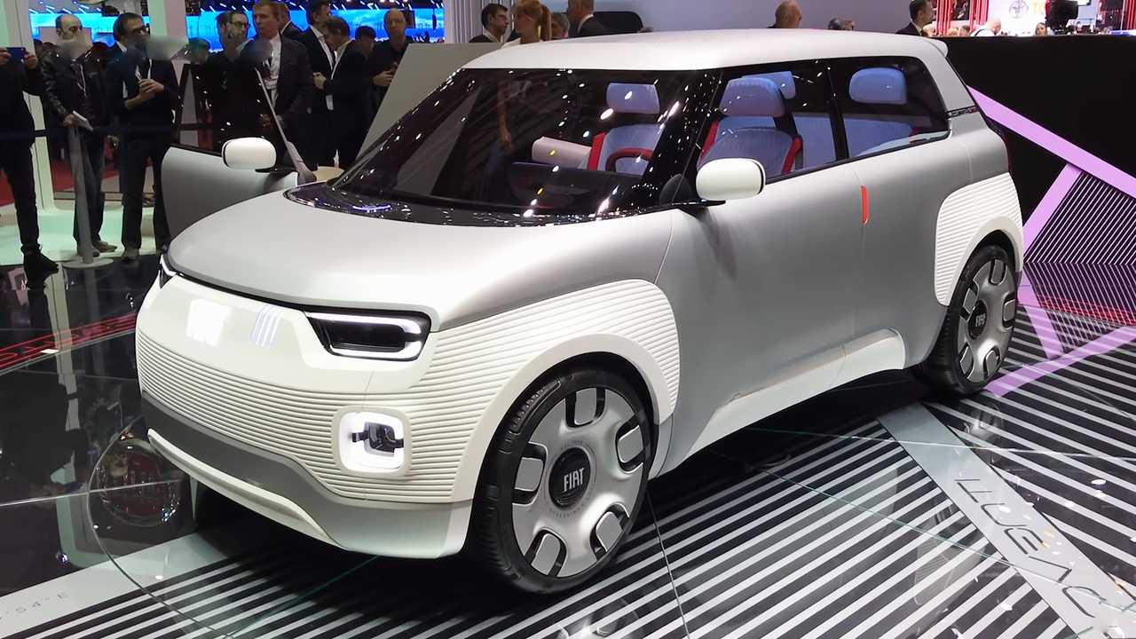 Fiat Concept Centoventi at the Geneva Motor Show 2019