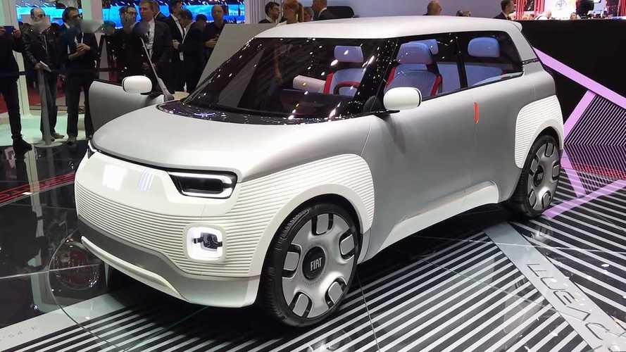 Fiat Concept Centoventi: Elektro-Kleinstwagen im Panda-Format