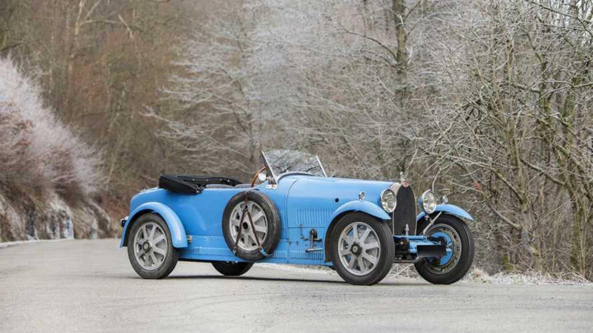 """[""""Prince Leopold 1928 Bugatti Type 43 Grand Sport""""]"""