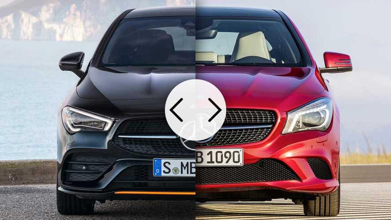 Mercedes CLA, vecchia vs nuova