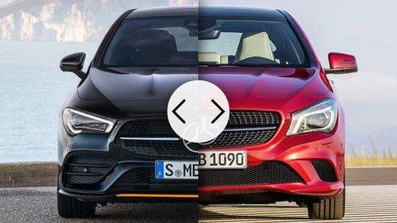 Mercedes CLA Coupé 2019 vs. 2016: todos los cambios estéticos