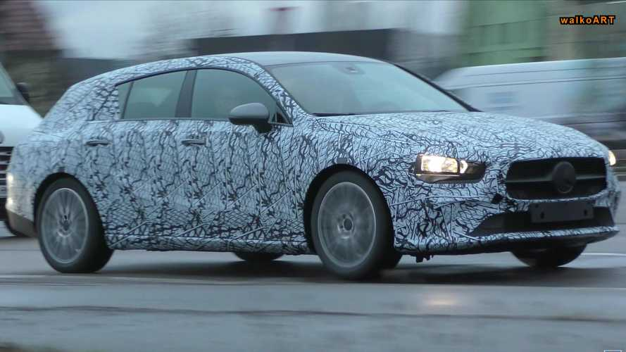 New Mercedes CLA Shooting Brake Spied Flaunting Its Longer Roof