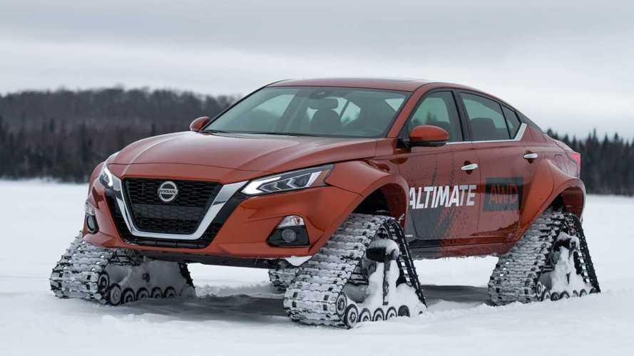 Nissan Altima-te AWD: Diese Limousine kommt überall hin