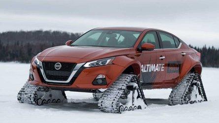 Nissan Altima-te AWD, ou la berline que rien n'arrête