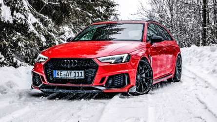 Abt's 523-HP Audi RS4 Avant Looks Like Perfect Snowmobile